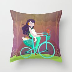Vacations Throw Pillow