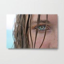 There is an Ocean in My Eyes Metal Print