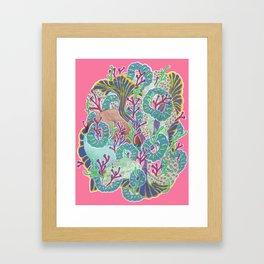 Alien Organism 11 Framed Art Print