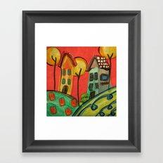 Casitas Framed Art Print