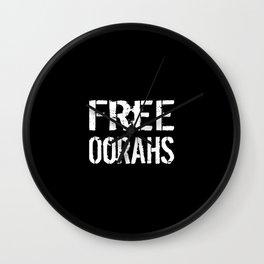 Free Oorahs Wall Clock