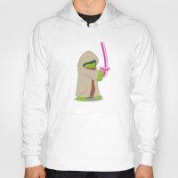 jedi Hoodies featuring Master Jedi by Matisse Lin