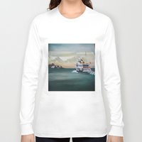 istanbul Long Sleeve T-shirts featuring Ferry İstanbul by ArtSchool
