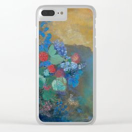 Odilon Redon - Ophelia Among The Flowers Clear iPhone Case