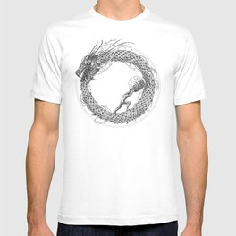 The Ouroboros / Uroboros and Sisyphus T-shirt