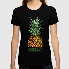 Pineapple lovers 'Prickly Bitch' series T-shirt