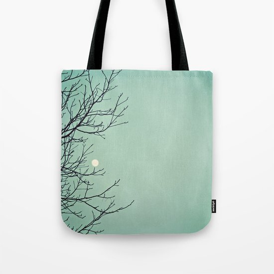 Holding the moon Tote Bag