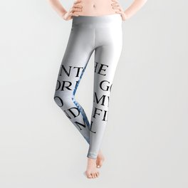 Into The Forest I Go Leggings