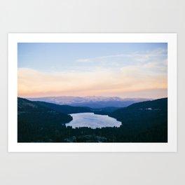 Donner Lake // California Art Print