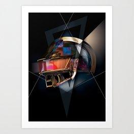 "Daft ""Thomas"" Punk Art Print"