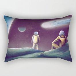 Observing The Energy Comet Rectangular Pillow