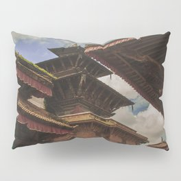 Architecture of Kathmandu City 002 Pillow Sham