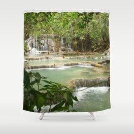 Zen Waterfalls Harmony #2 Shower Curtain