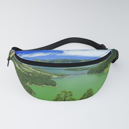 Lakes in Azores islands Fanny Pack
