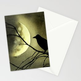Crow Moon Stationery Cards