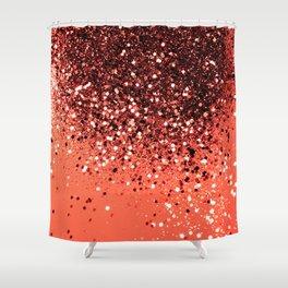 Cali Summer Vibes Lady Glitter #8 #shiny #decor #art #society6 Shower Curtain