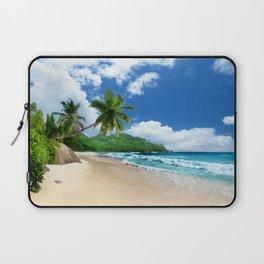 Tropical Landscape at Mahé  Island, Seychelles Laptop Sleeve
