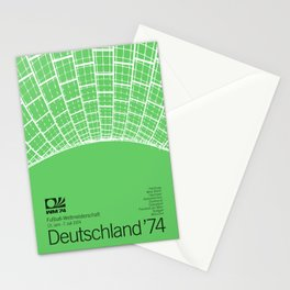 World Cup: West Germany 1974 Stationery Cards