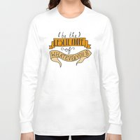 leslie knope Long Sleeve T-shirts featuring Leslie Knope by Illustrated by Jenny