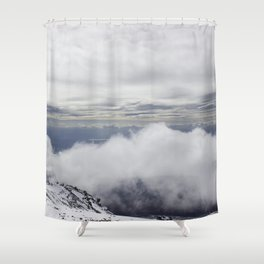 Mount Etna, Sicily  Shower Curtain
