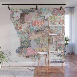 Los Angeles map Wall Mural