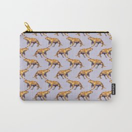 lilac tiger pattern Carry-All Pouch