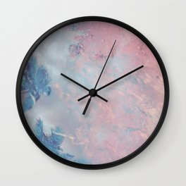 DESERT ICE Wall Clock