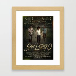 San Lazaro movie poster Framed Art Print