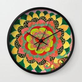Feral Heart #01 Wall Clock