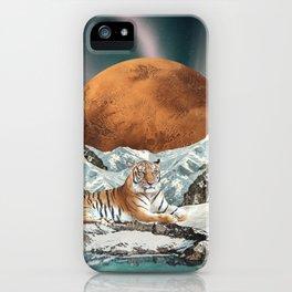 Tyger, Tyger, burning bright iPhone Case