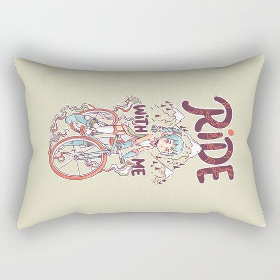 Ride With Me Rectangular Pillow