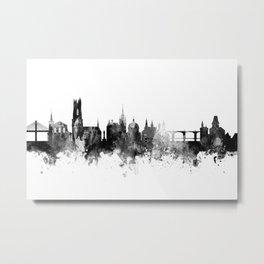 Fribourg Switzerland Skyline Metal Print