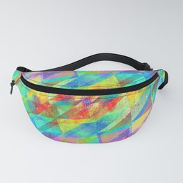 MULTICOLORED HAPPY CHAOS Fanny Pack