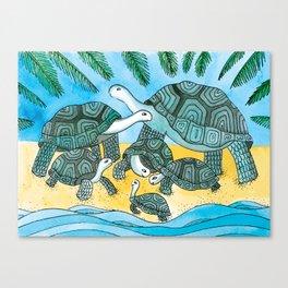 Noah's Ark - Giant Turtle Canvas Print