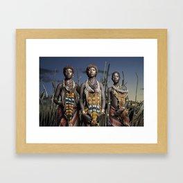 Hamer Beauty Framed Art Print