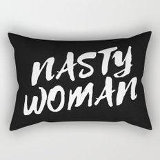 Nasty Woman Rectangular Pillow