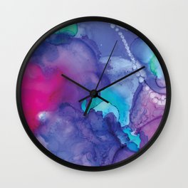 Rainbow Bubble Wall Clock