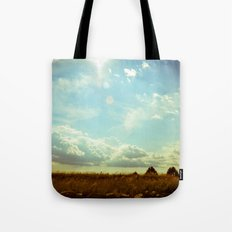 Shooting the Breeze Tote Bag