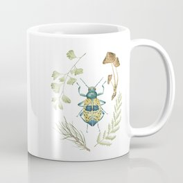 Coleoptera beetle in the Forest Coffee Mug