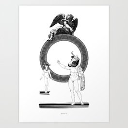 The outrageous promise. Art Print