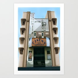 CINEMA PANTHEON Art Print