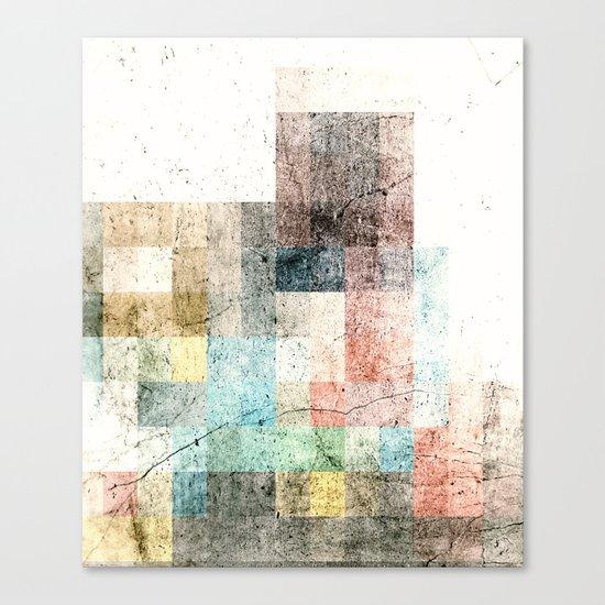 concrete II Canvas Print