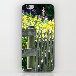 Quaint Country Gate iPhone Skin