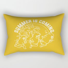 Summer is coming Rectangular Pillow