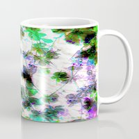 jungle Mugs featuring jungle by Lydia Cheval
