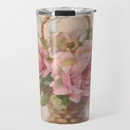 Bountiful Rose Blossoms Travel Mug