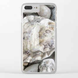 Shell two Clear iPhone Case
