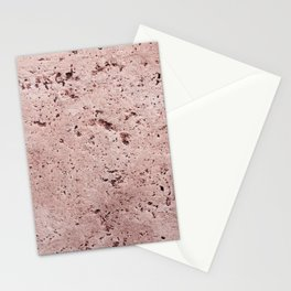Millennial Pink Wall Stationery Cards