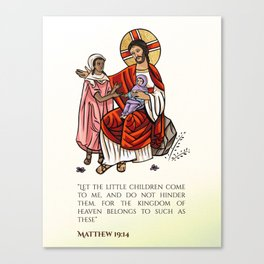 Matthew 19:14 Canvas Print