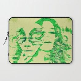 Slip of the Mask Laptop Sleeve